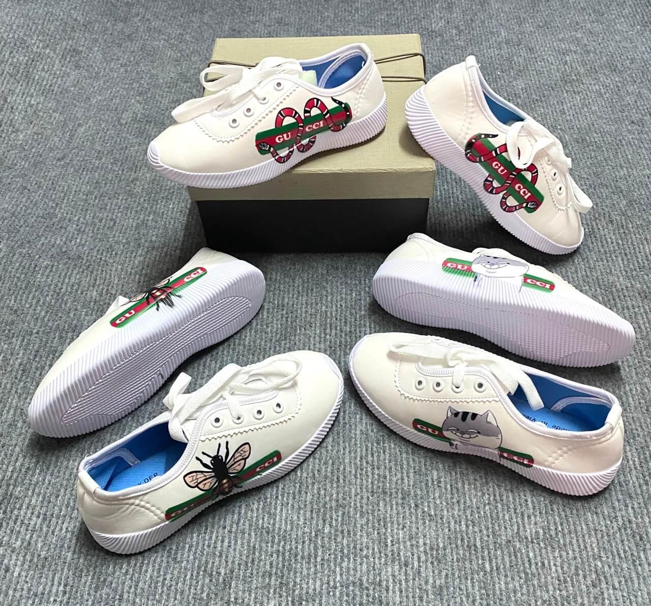 Rất nhiều mẫu giày thể thao em bé 2hand là hàng hiệu cũ thuộc các thương hiệu đình đám trên thế giới