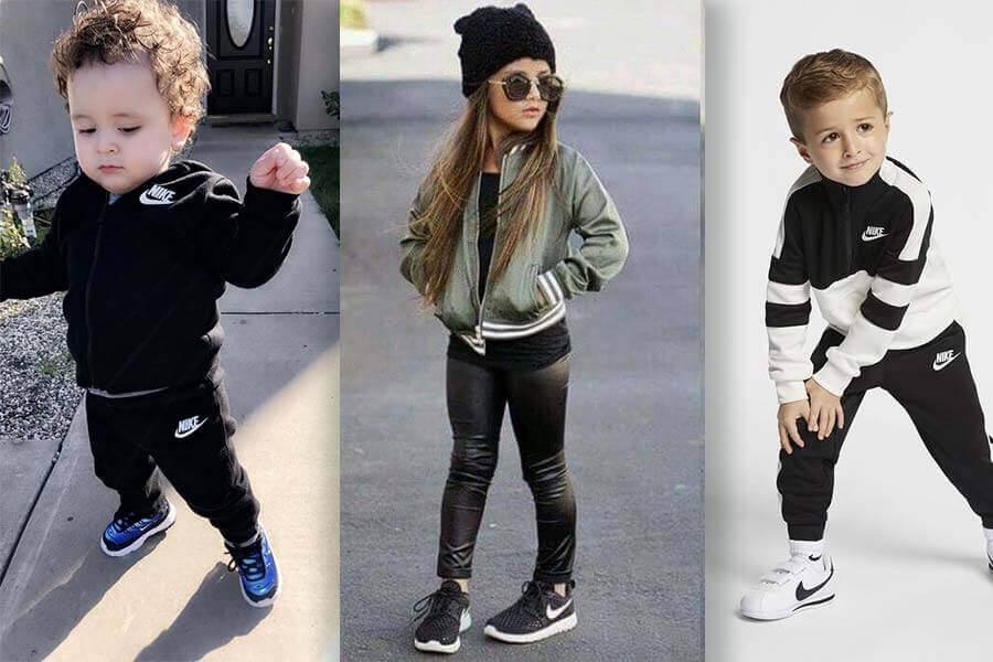 Cho trẻ mang giày thể thao vừa giúp con thoải mái hoạt động vừa bảo vệ đôi chân con một cách tối đa