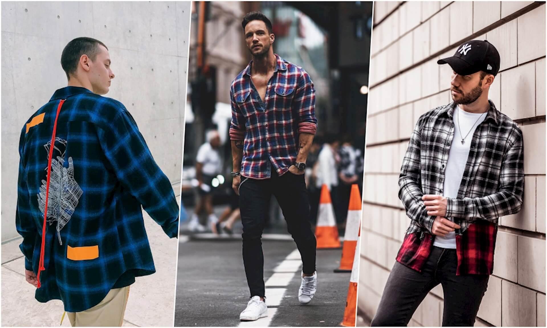 Áo flannel hay còn được biết với cái tên áo sơ mi caro từ lâu đã trở thành một món đồ không thể thiếu trong tủ quần áo
