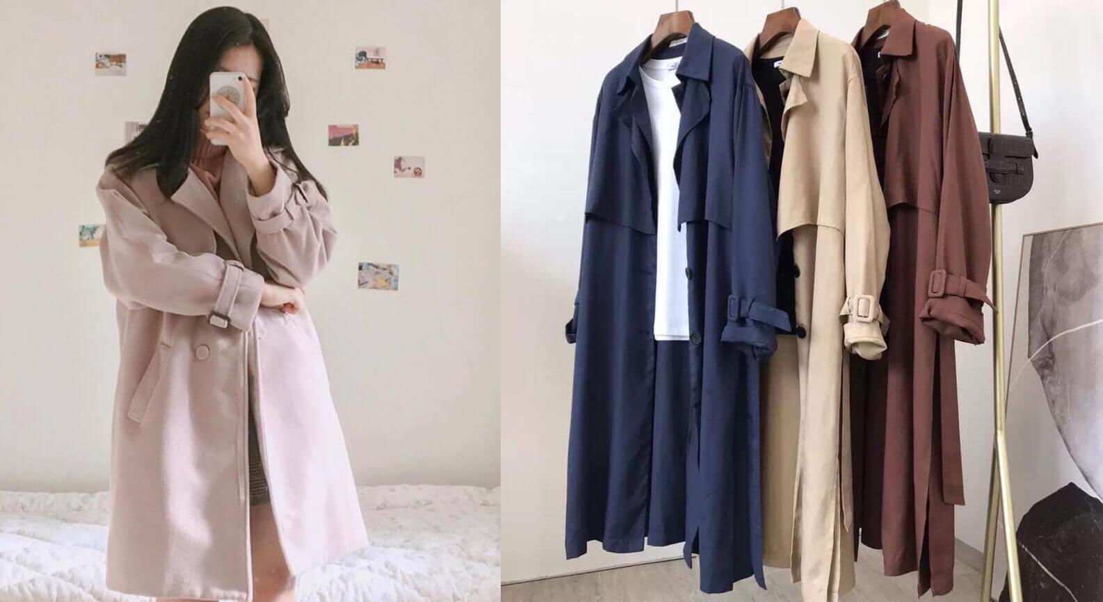 Thay vì lựa chọn các mẫu áo khoác dạ Quảng Châu thì rất nhiều chị em đổ xô nhau đi săn áo khoác dạ, áo măng tô hàng thùng Hàn Quốc, Nhật Bản