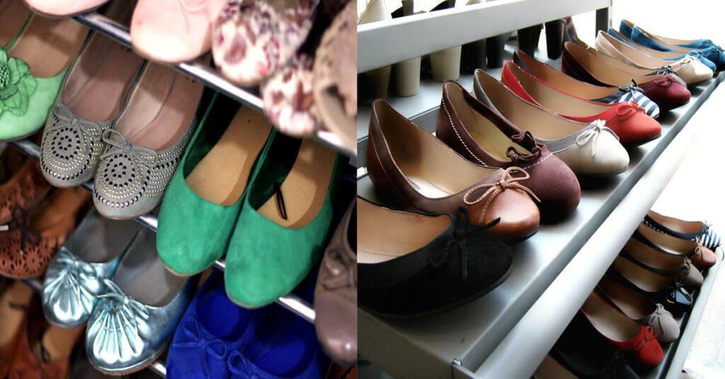 Giày hàng thùng được săn lùng từ những đôi giày cũ, các đôi giày qua mốt hoặc các đôi giày trưng bày trong các cửa hàng giày dép.