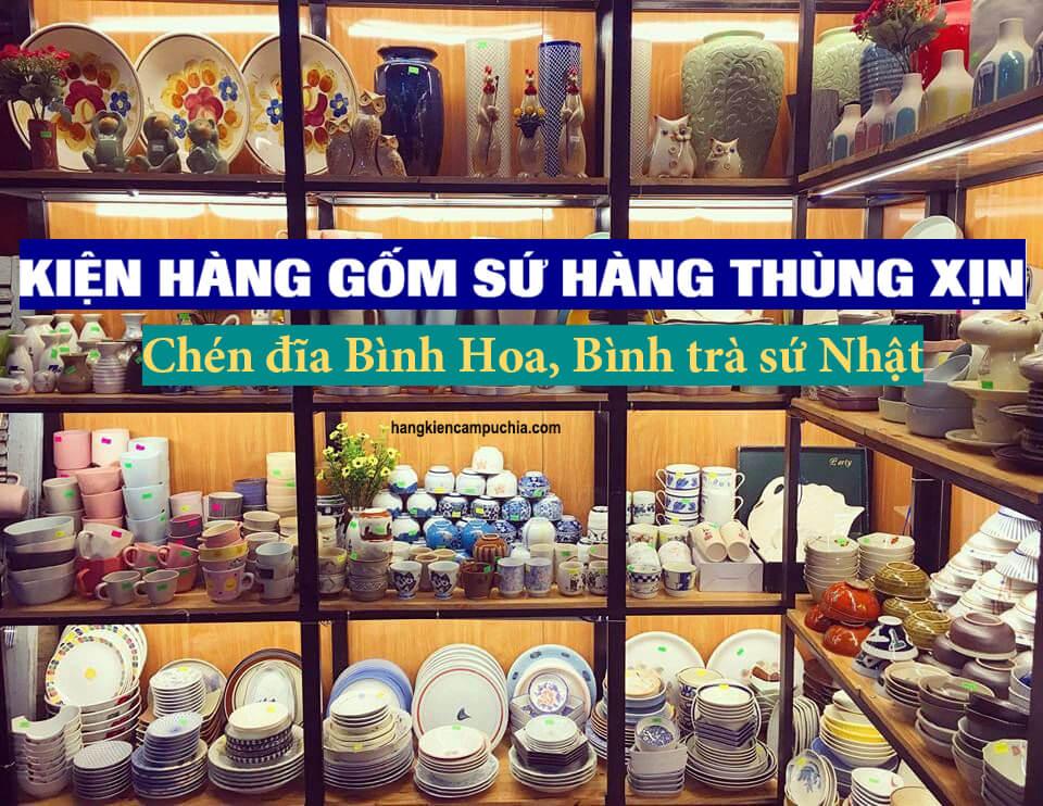 Kinh doanh gốm sứ Nhật hay còn gọi là gốm sứ hàng thùng đang là trào lưu nở rộ tại khắp các tỉnh thành trên cả nước