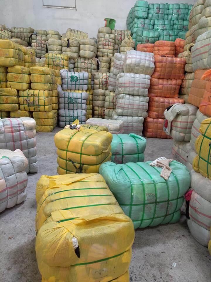 hàng Châu Á sẽ được đóng thành kiện 100kg và hàng Âu - Mỹ sẽ được đóng thành kiện 45kg
