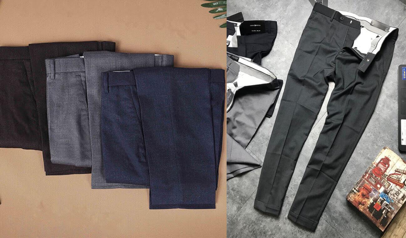 Hiện hangkiencampuchia.com đang có sẵn quần tây nam hàng thùng có xuất xứ Nhật - Hàn
