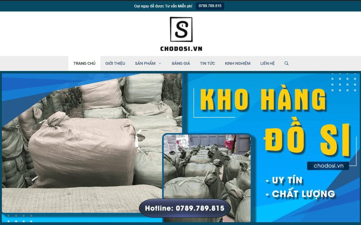 Website kho hàng chodosi.vn