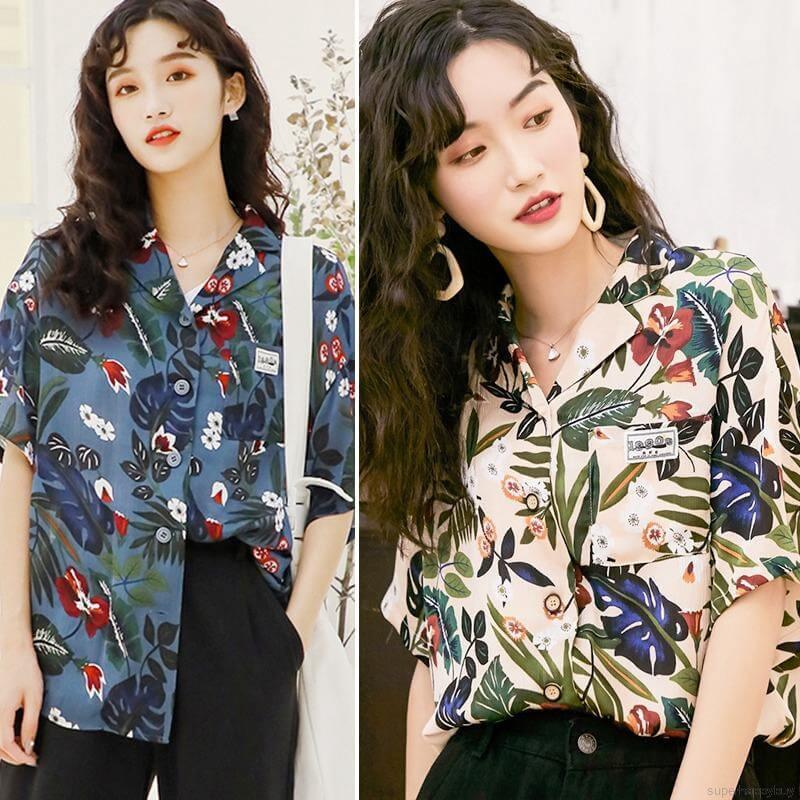 Áo sơ mi Hawaii là mặt hàng không thể thiếu vào dịp hè, nhu cầu và sức nóng của thị trường khiến chiếc áo này trở thành mặt hàng được săn đón số 1