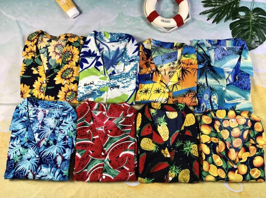 Áo hawaii là chiếc áo quốc dân của mọi nhà khi tiếng ve gọi về, với thiết kế rộng rãi, họa tiết sinh động và màu sắc đa dạng